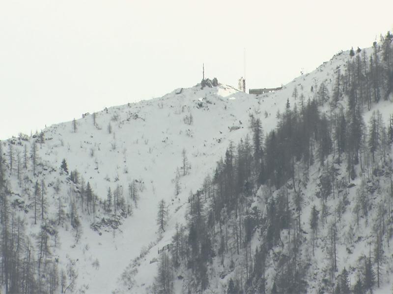 Bergstation der neuen Jennerbahn