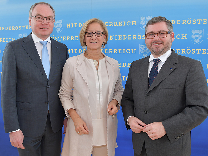 Pernkopf, Mikl-Leitner und Schleritzko