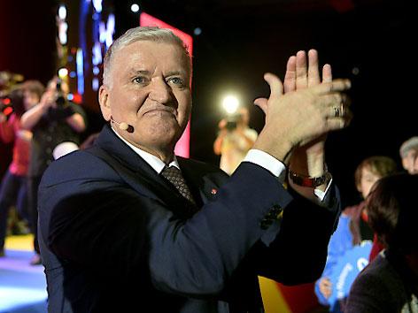 Franz Schnabl SPÖ Wahlkampfauftakt