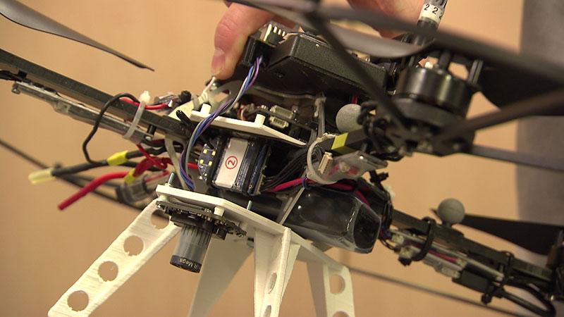 Mars Mission Drohne