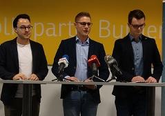 JVP Burgenland, v. l. n. r. : Sebastian Steiner, Patrik Fazekas, Dominik Reiter