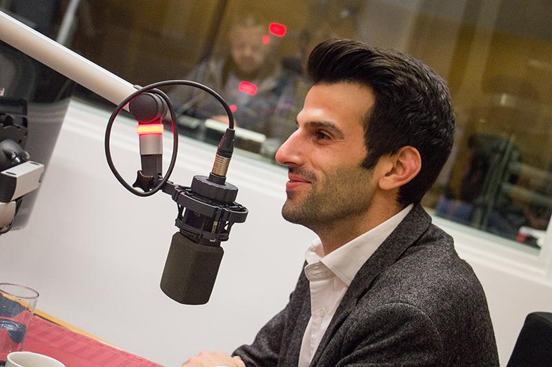 """Udo Landbauer im """"Radio Niederösterreich Wahlcafé"""""""