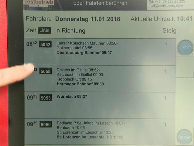 Verkehrsknoten Kötschach