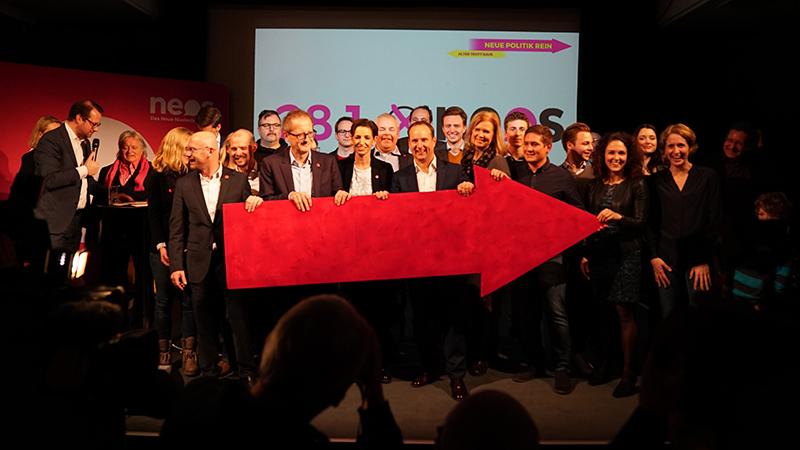 NEOS Wahlkampfauftakt Landtagswahl LTW 2018 Mödling