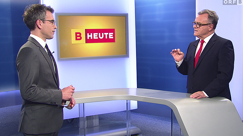 """Martin Ganster und Hans Niessl im """"Burgenland heute""""-Gespräch"""