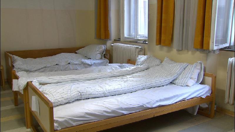 Notschlafstelle Betten Obdachlose