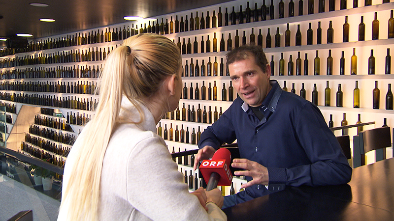 Raphaela Pint mit Erich Scheibelhofer