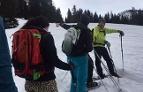 Schneeschuhwanderer bei Tour in Großarl