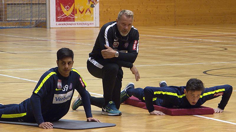 Austria Wien trainiert in Steinbrunn