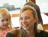 Juliane Bogner-Strauß im Kindergarten