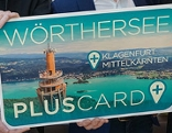 Regionskarte Wörthersee neu Wörthersee Plus Card