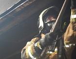 Wohnung bei Brand komplett zerstört