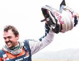 Matthias Walkner wird in Argentinien gefeiert als Gesamtsieger der Rallye Dakar