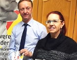 Johann Tschürtz und Silvia Maire