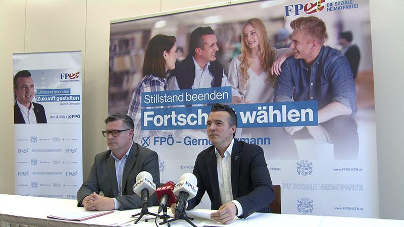 FPÖ Plakate Wahl