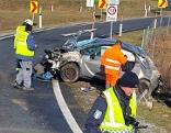 Verkehrsunfall auf der A3 zwei Verletzte
