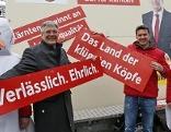 Wahlplakate SPÖ Präsentation