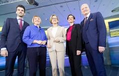 Fernsehdiskussion Landtagswahl Spitzenkandidaten