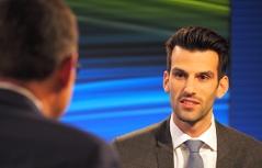 Udo Landbauer im Gespräch mit Robert Ziegler