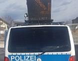 Mobiles Kontrollfahrzeug der deutschen Bundespolizei