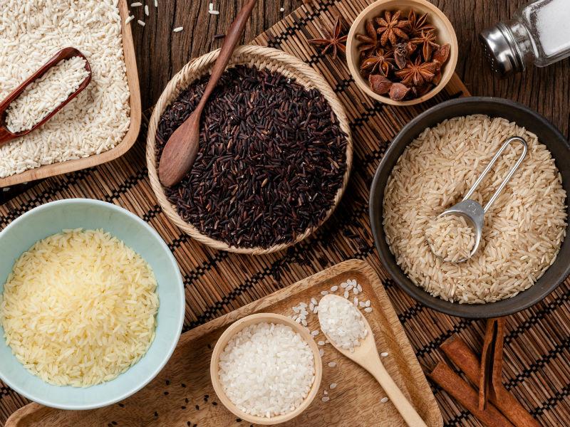 Reis verschiedene Sorten