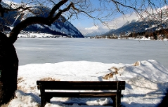 Grundlsee im Winter