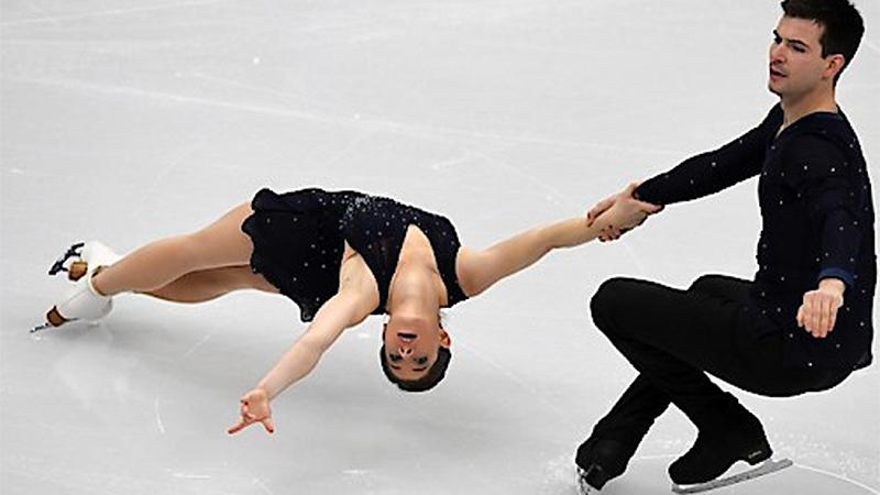 Miriam Ziegler und Severin Kiefer bei der EM in Moskau