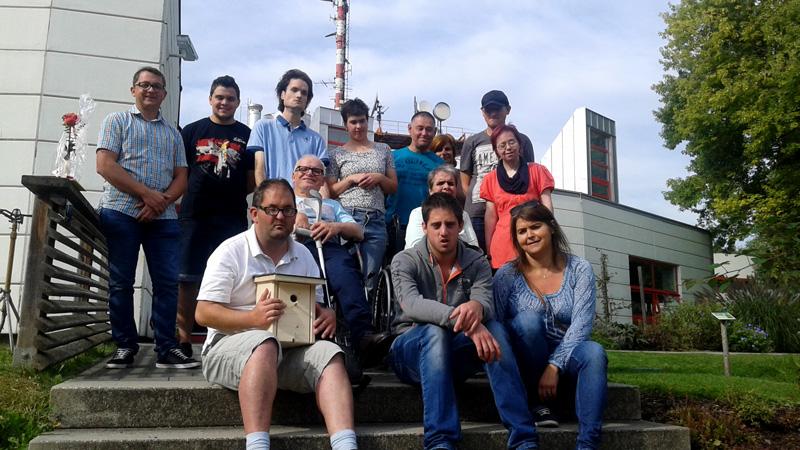Gruppe der Lebenshilfe Tamsweg im ORF Fernsehgarten