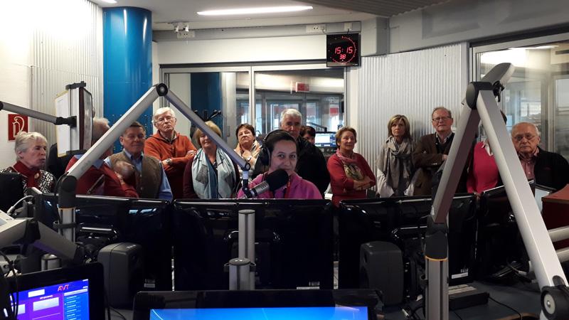 Bildungswerk Plainfeld zu Gast im Radiostudio bei Iris Köck