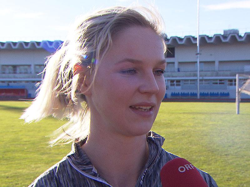Valerie Kleiser bei ORF-Interview