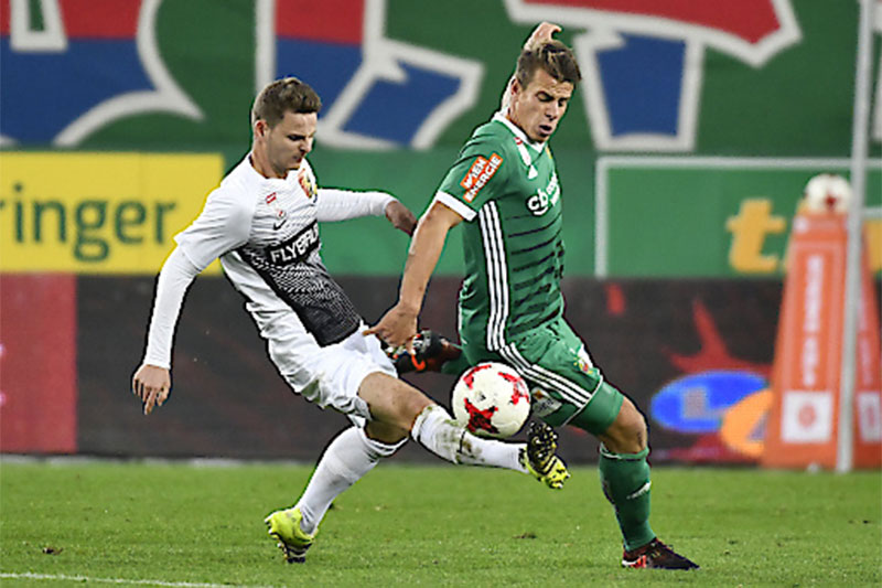 Fußball Bundesliga Rapid Admira Marcus Maier Stefan Schwab
