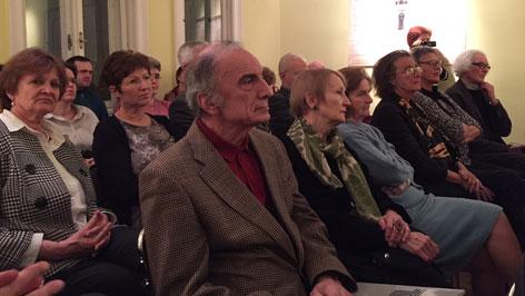 Martos Péter előadása a bécsi Bornemisza Péter Társaságnál.