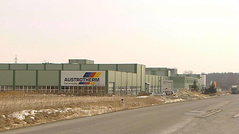 Austrotherm Werk in Purbach