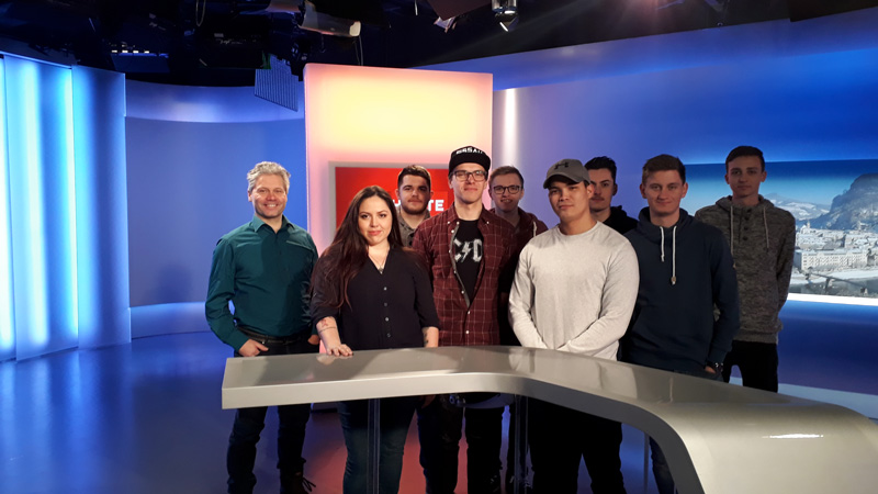LBS 4 – Landesberufsschule 4 – angehende IT-Techniker zu Gast im ORF
