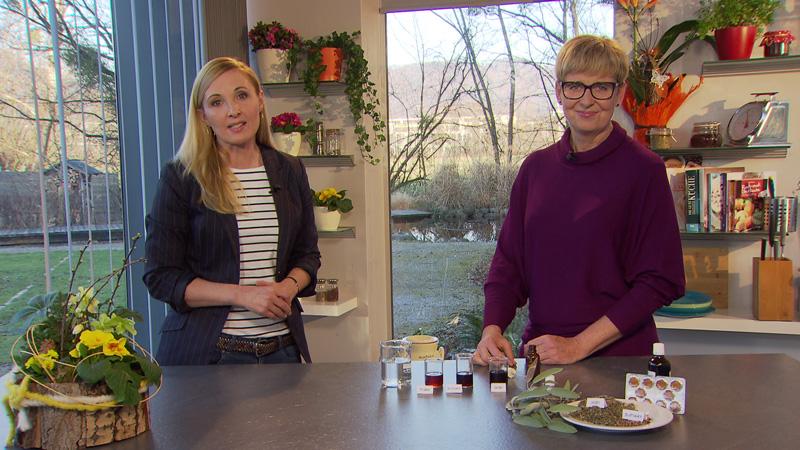 Edina Gaisecker und Kornelia Seiwald