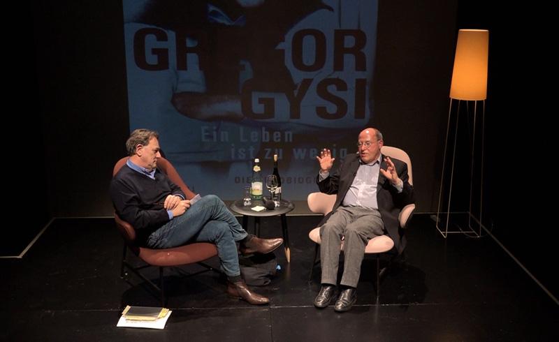 Gregor Gysi im Gespräch