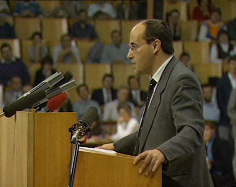 Gregor Gysi in den 1980er Jahren