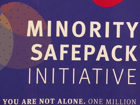 Minority Safepack strategija podpisi posvet NSKS Celovec Germovšek