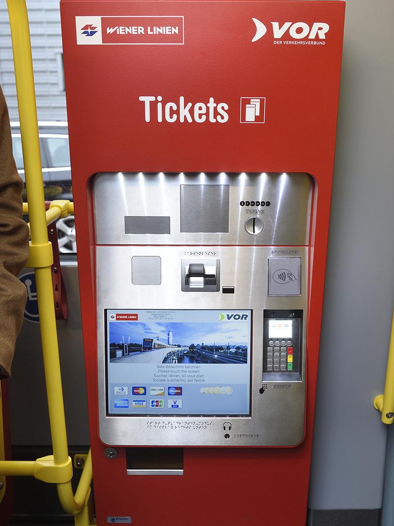 Ticketautomat Wiener Linien