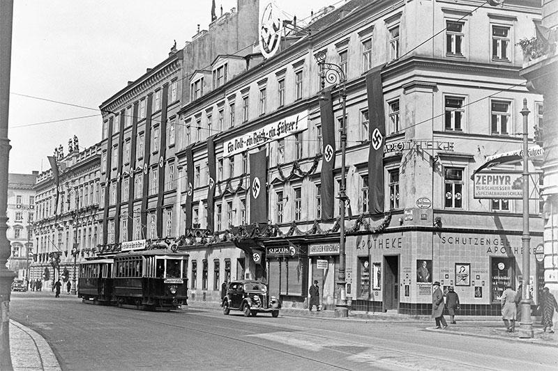 Zentrale der Wiener Verkehrsbetriebe im Zweiten Weltkrieg