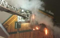 Brand Seitenstetten Holzhaus