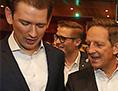 Sebastian Kurz ÖVP kancler volilni boj Benger ljudska LTW volitve