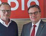 Michael Irsperger und Günther Platter