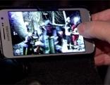 Smartphone bei Unfall