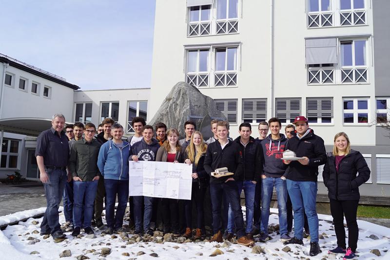 """HBLA Ursprung in Elixhausen bei Salzburg, Energieausweis, Fachrichtung """"Umwelt- und Ressourcenmanagement"""""""