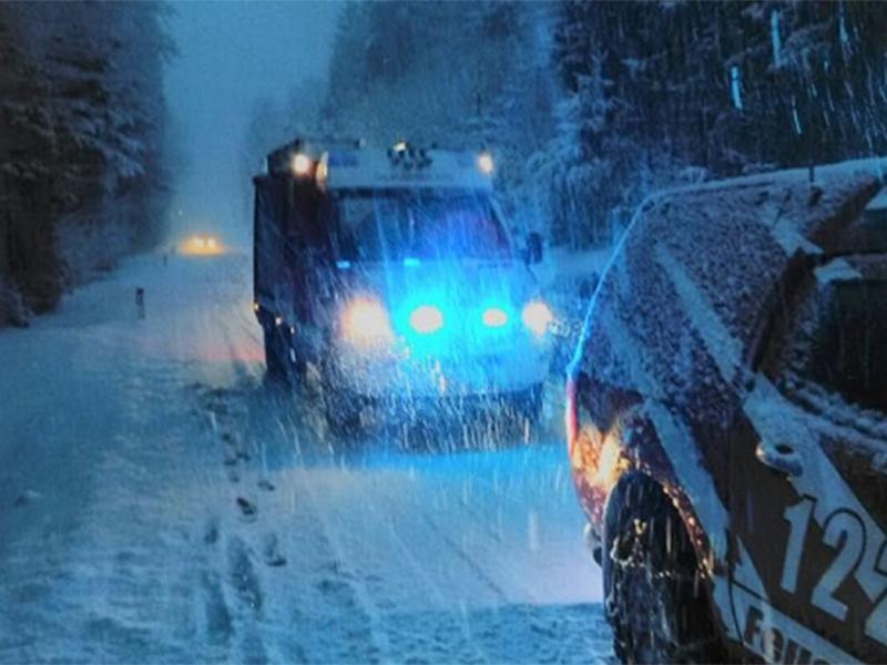 Feuerwehr im Wintereinsatz
