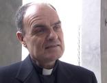 Bischof Ivo Muser beim Interview