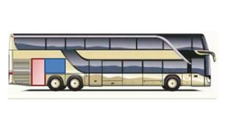 Passagierin in Bus-Kofferraum eingesperrt