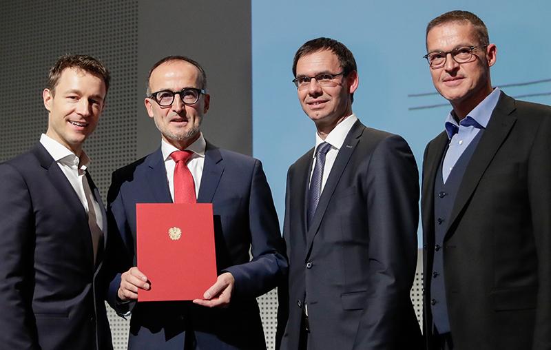 Tobias Natter Auszeichnung