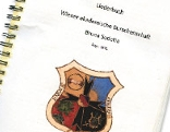 """Ein Liederbuch das angeblich der Burschenschaft """"Bruna Sudetia"""" zuzuordnen ist"""